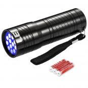 LED UV Torch Flashlights Blacklight, 395nm