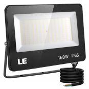 150W Outdoor LED Flood Light, 400W Metal Halide Equivalent, Waterproof IP65 Floodlight, 15000 Lumen, 5000K Daylight White, CE Listed