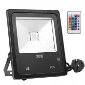 30W RGB LED Floodlight, Dimmable