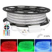 25M 5050 RGB LED Strips Light