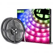 10M RGB LED Strip Light Kit, IP65 Waterproof, Remote and Power Adapter Included