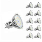 2.5W GU10 LED Bulb, 35W Halogen Lamp Equivalent, 3000K, Warm White