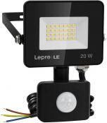 Lepro 20W Security Lights Outdoor Motion Sensor, 1700 Lumen PIR Light, IP65 Waterproof Motion Sensor Flood Light, Ultra Thin Garden Light Security Perfect for Forecourt, Backyard, Garages and More
