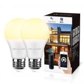 9W Dimmable WiFi Smart Bulb