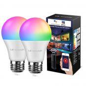 LE LampUX WiFi Smart Bulb E27 RGBW