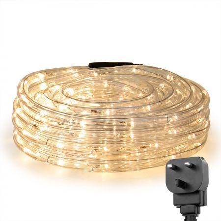 Led Strip Light 10m 6w 24v Warm White, Led Outdoor Rope Lights