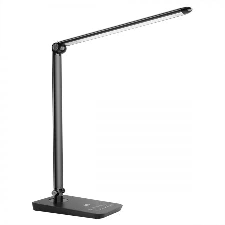 Dimmable Led Desk Lamp With Usb, Led Touch Desk Lamp