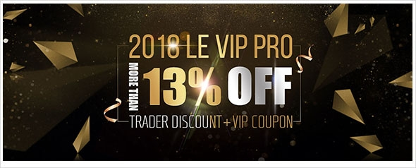 2018 LE VIP PRO more than 13% off