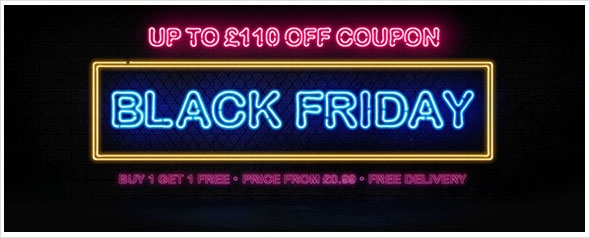 BLACK FRIDAY LED LIGHTS DEAL! The biggest deal in 2017! 8% off for all product, up to £110 off coupon for your order!